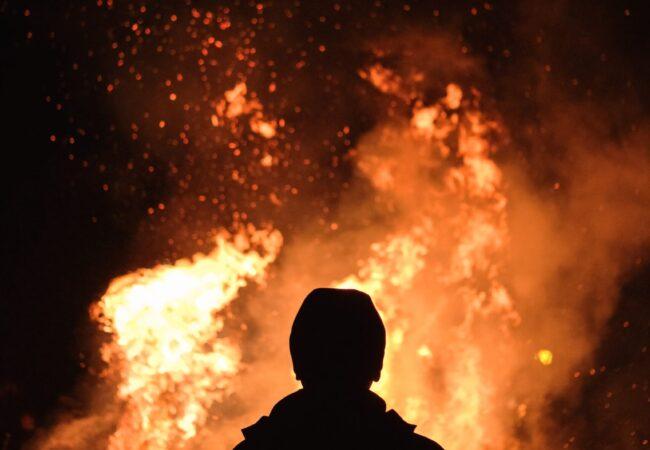 Brennende, anhaltende Leidenschaft